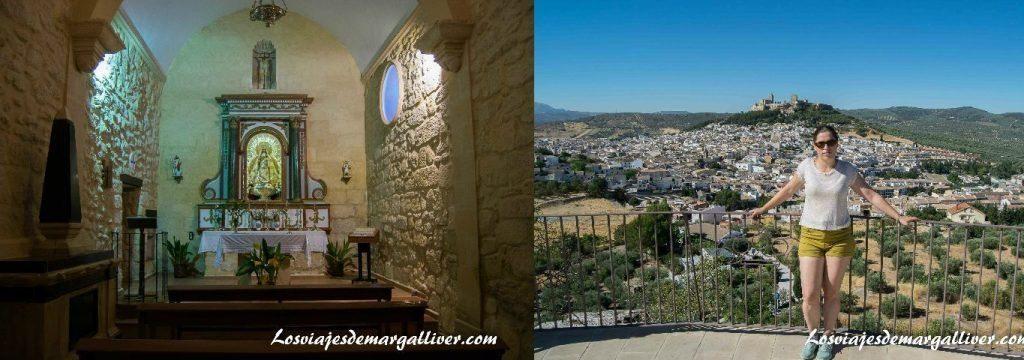 Ermita de San Marcos y plaza de San Marcos en Alcalá la Real - Los viajes de Margalliver